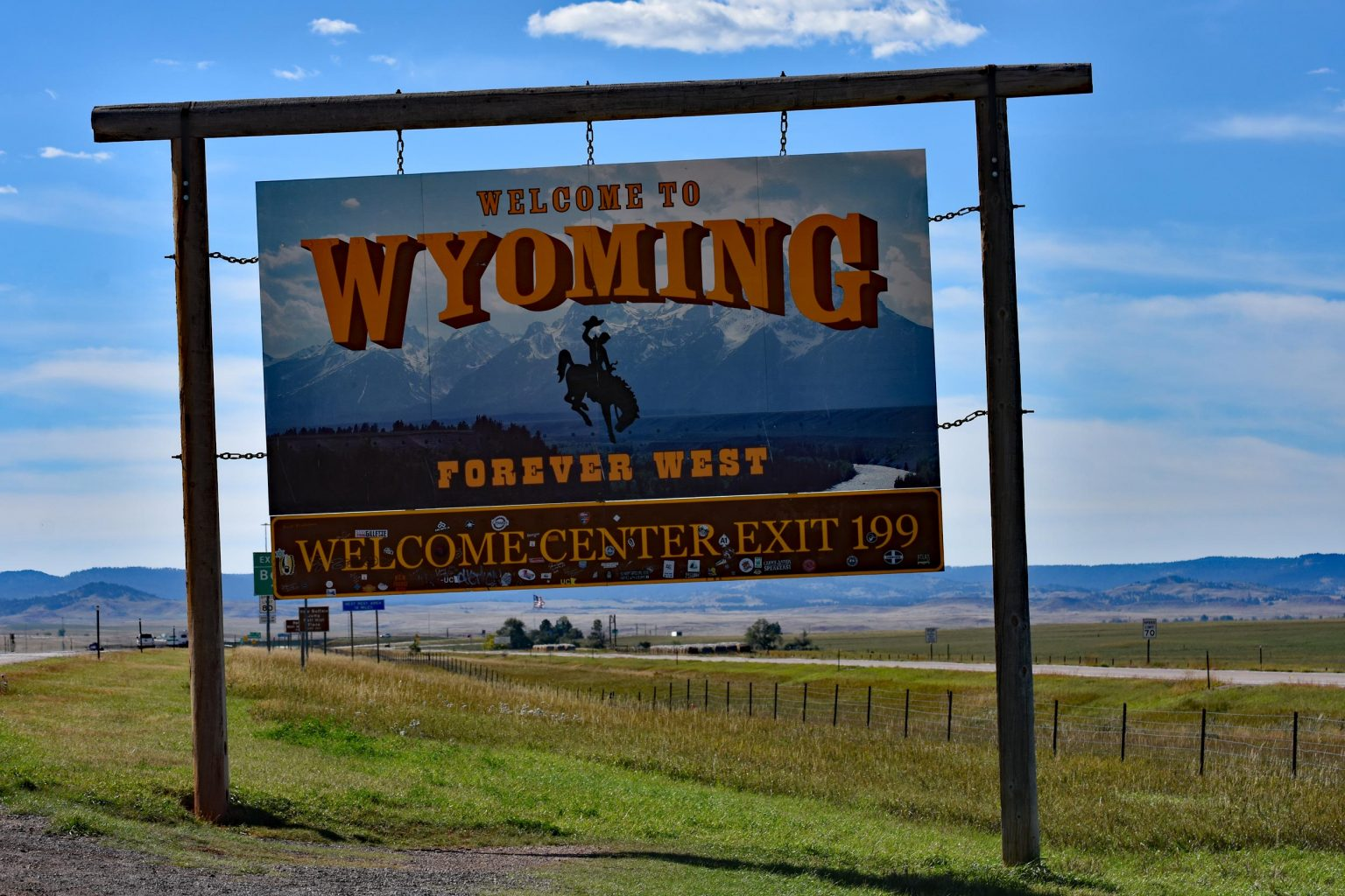 Welcome to Wyoming, USA