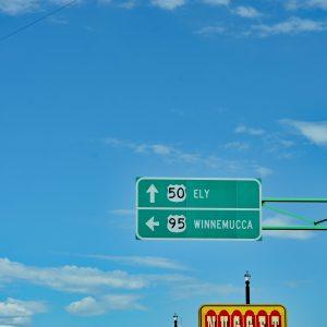 Wyjazd z Fallon, Highway 50