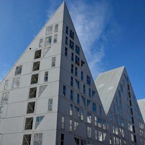 Kompleks mieszkalny Isbjerget, Aarhus, Dania