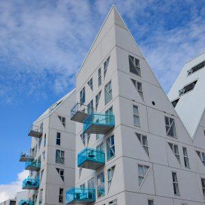 Biel i błękit - Isbjerget, Aarhus, Dania