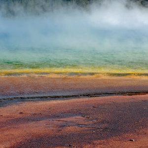 Feeria kolorów - Grand Prismatic Spring w Parku Narodowym Yellowstone