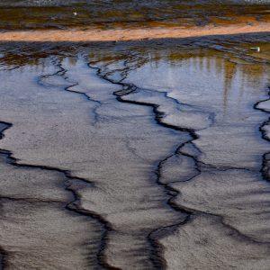 Pod wodą - Grand Prismatic Spring, Park Narodowy Yellowstone