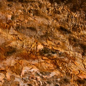 Pod krystaliczną taflą wody - Grand Prismatic Spring w Parku Narodowym Yellowstone