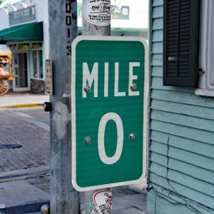 Mila 0, Highway 1, Key West