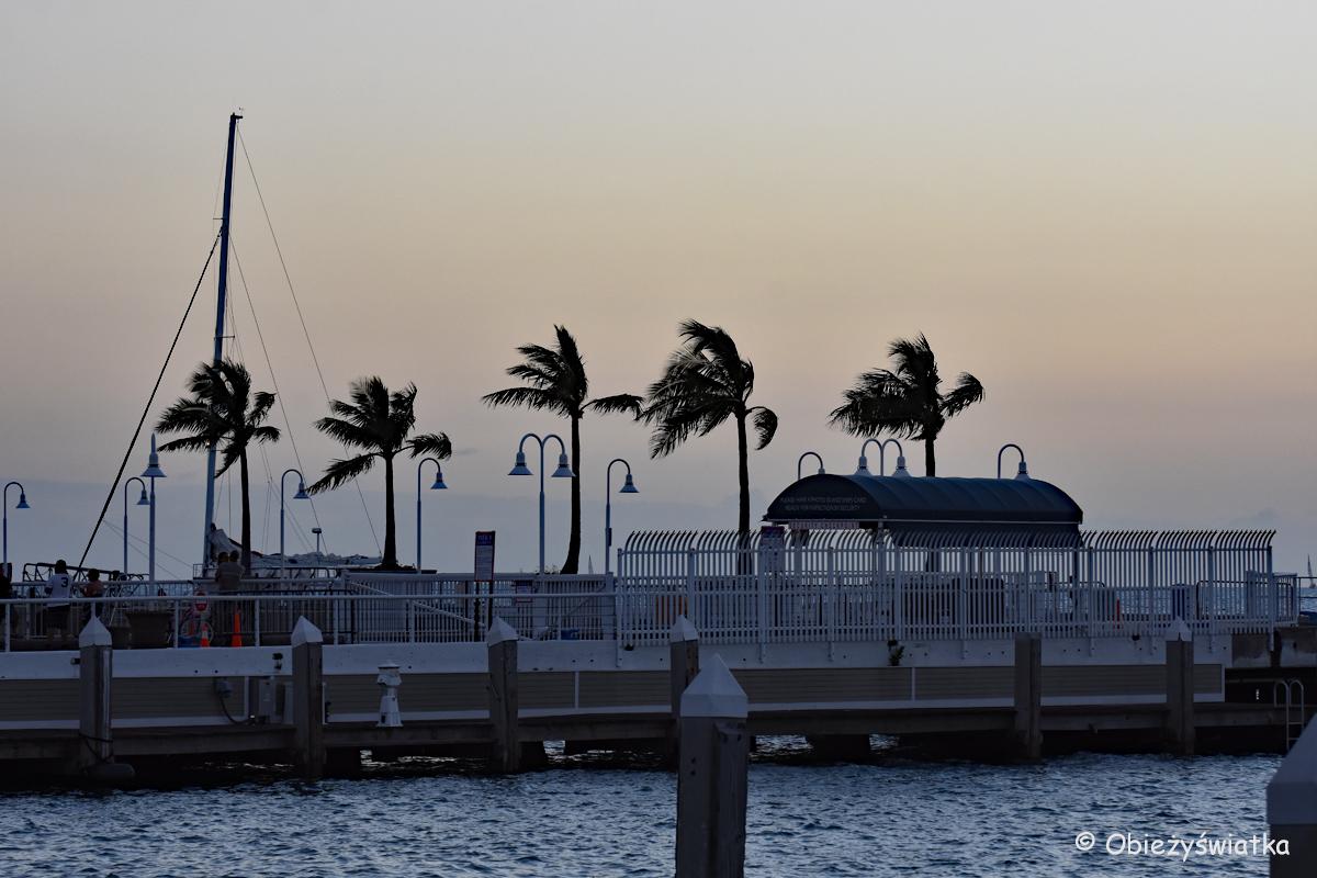 Key West o zachodzie słońca
