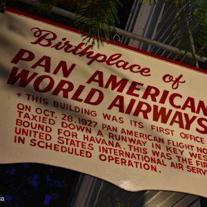 Pan Americana Airways, Key West