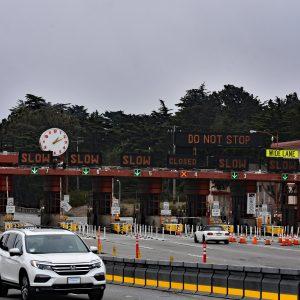 Bramki na moście Golden Gate, San Francisco
