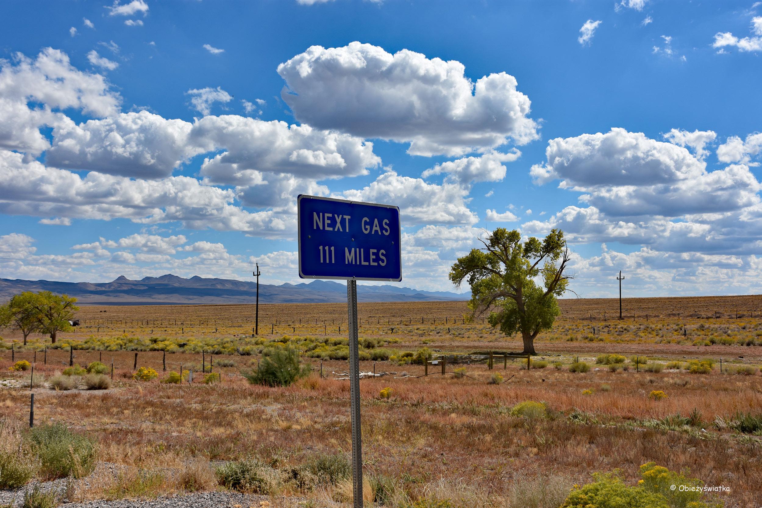 Pustka, pustka, pustka..., Nevada, USA