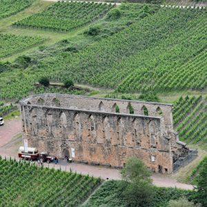 Ruiny klasztoru Stuben nad Mozelą