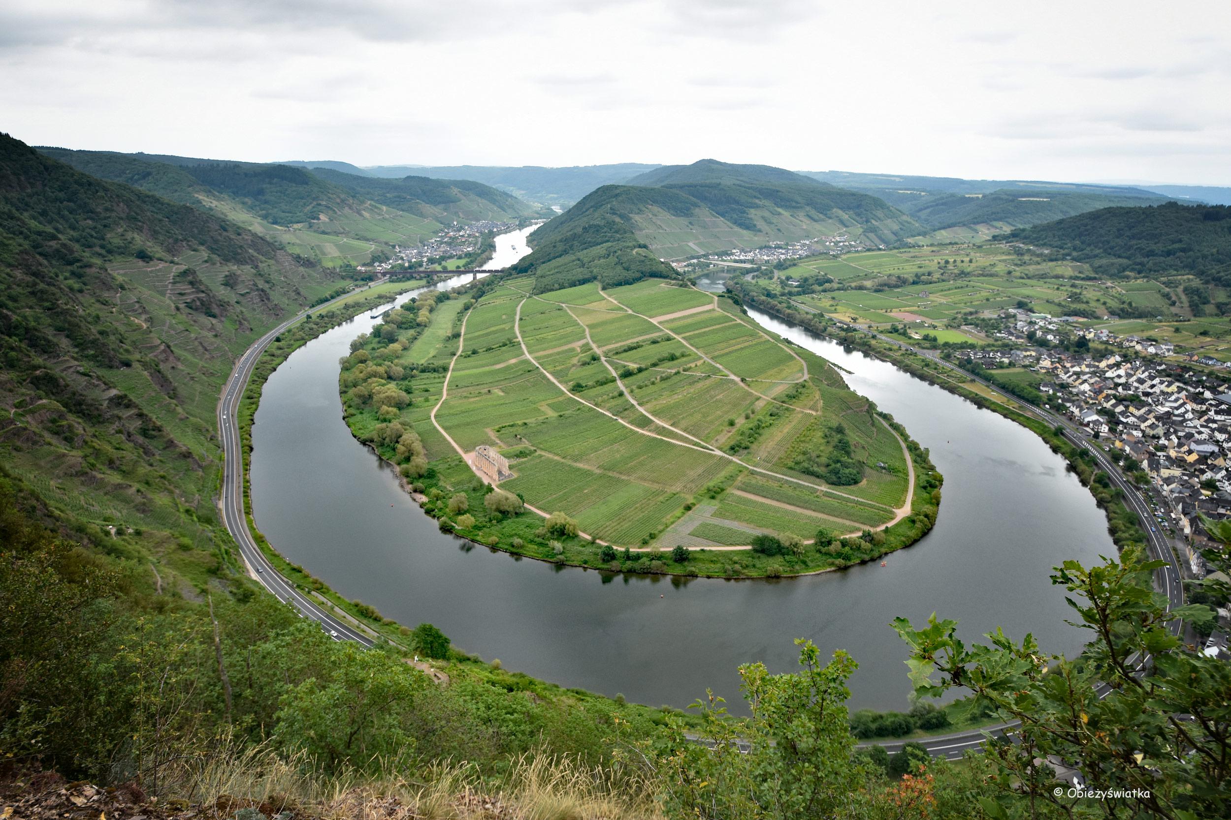 Mozela między Ediger-Eller i Bremm