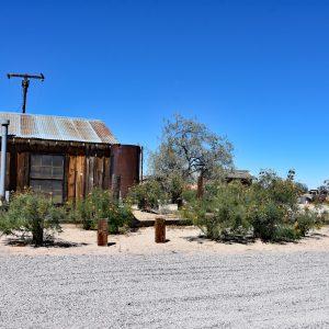 Opuszczona osada Cima / Pustynia Mojave