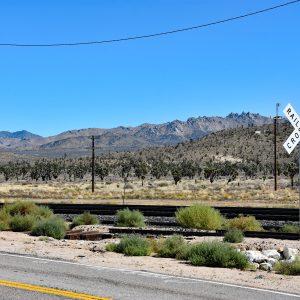 Węzeł kolejowy w Cimie / Pustynia Mojave