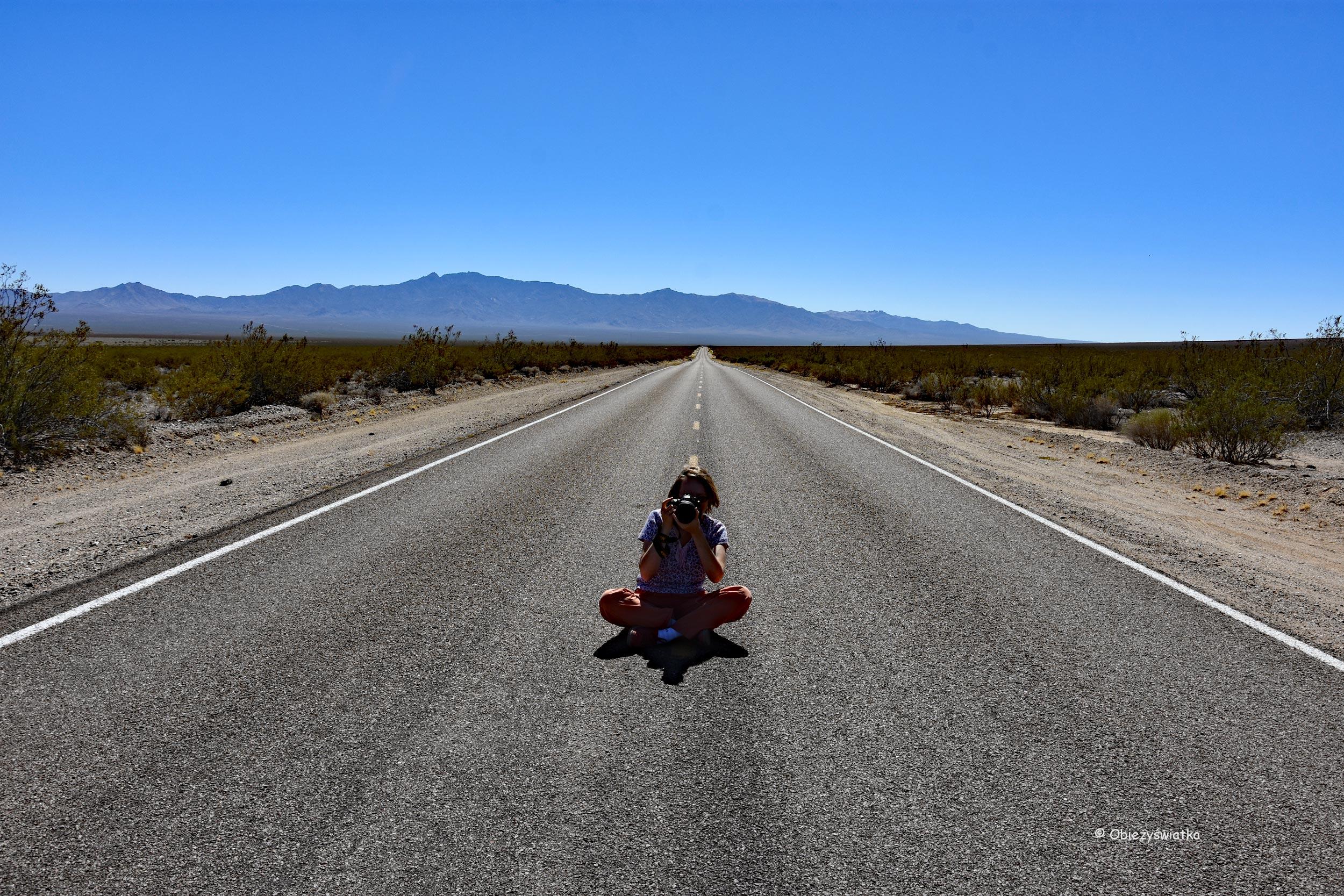 Na pustyni Mojave / Obieżyświatka w akcji ;)