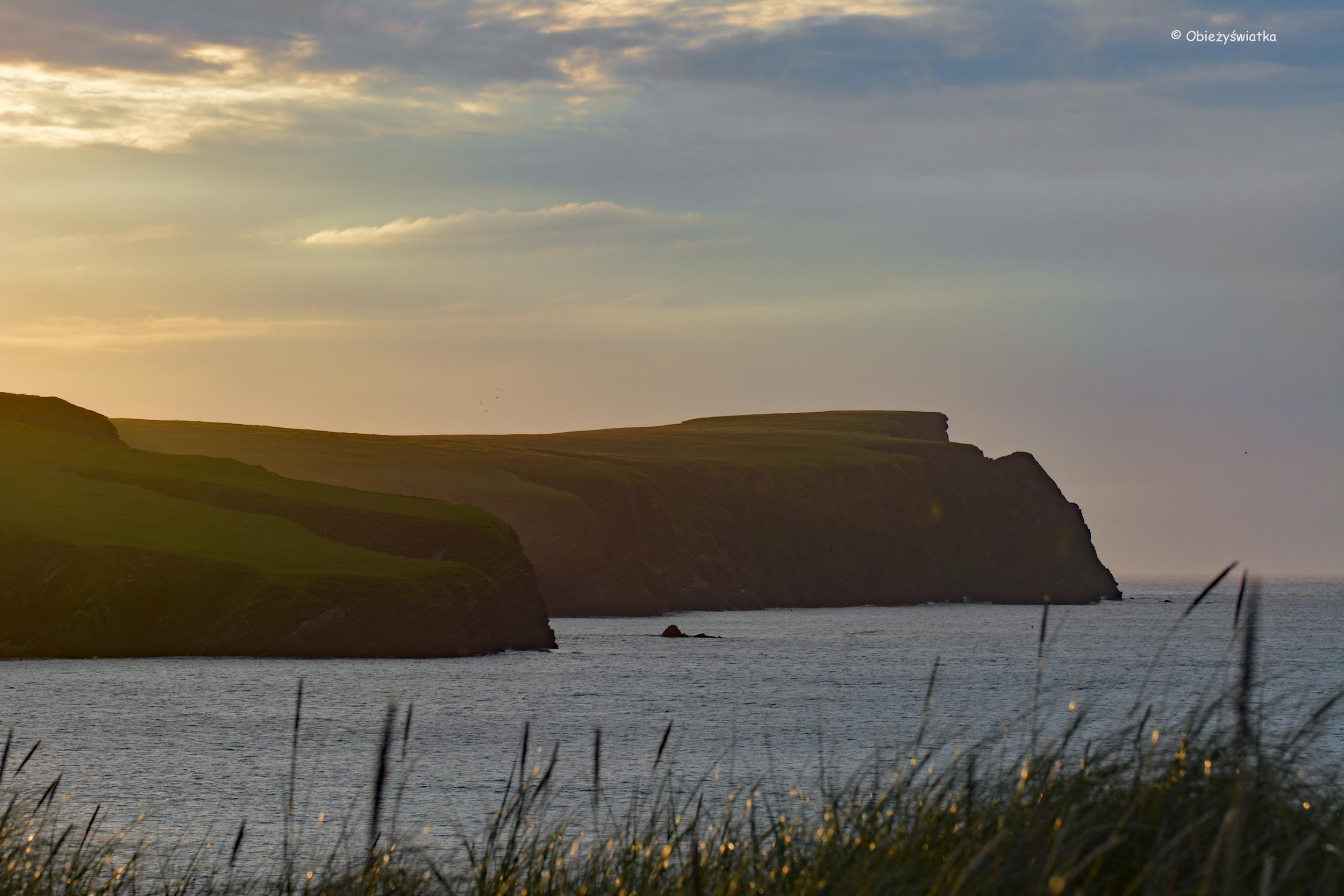 Wyspy Szetlandzkie, St Ninian's Isle