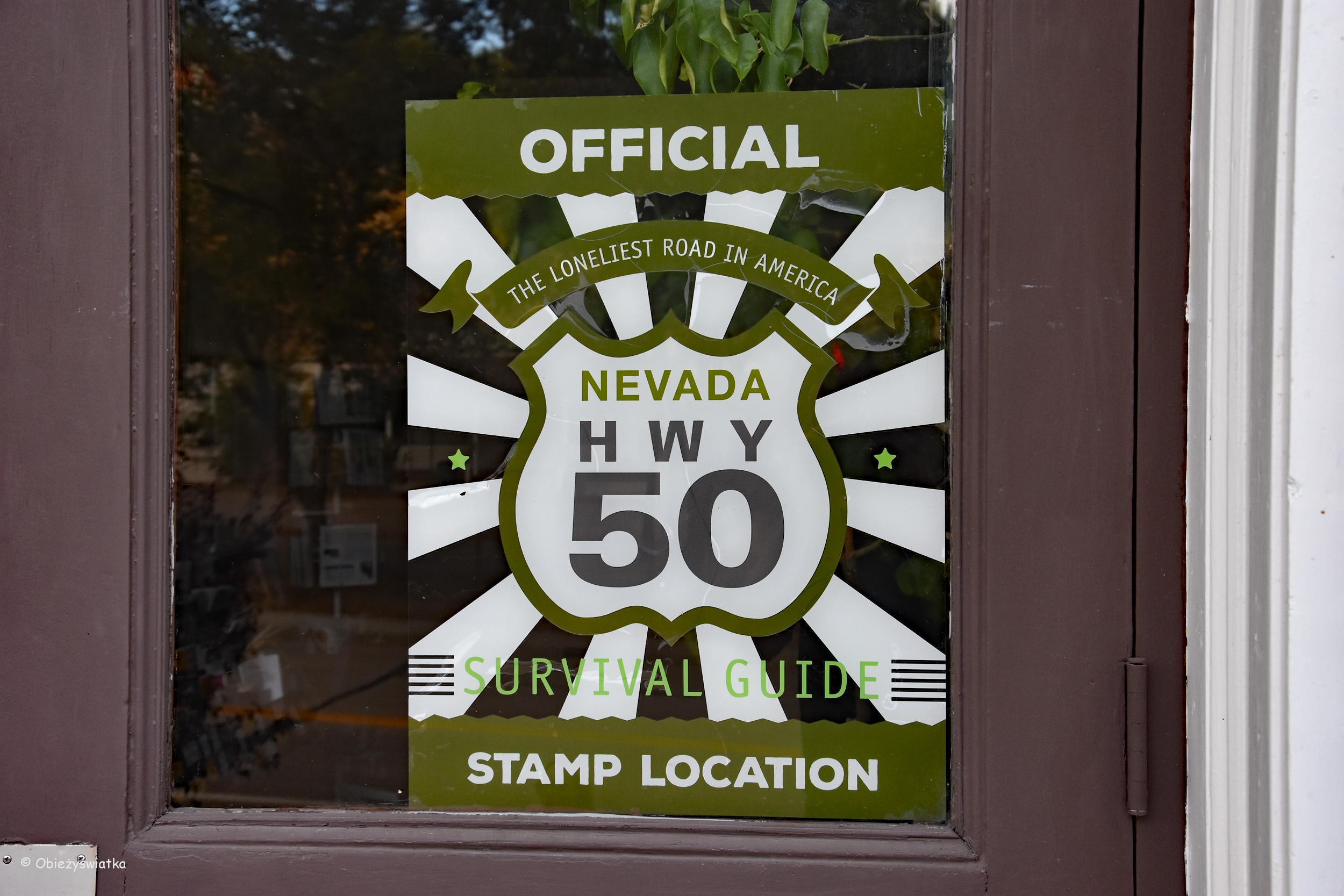 Highway 50, Stamp Location, Nevada