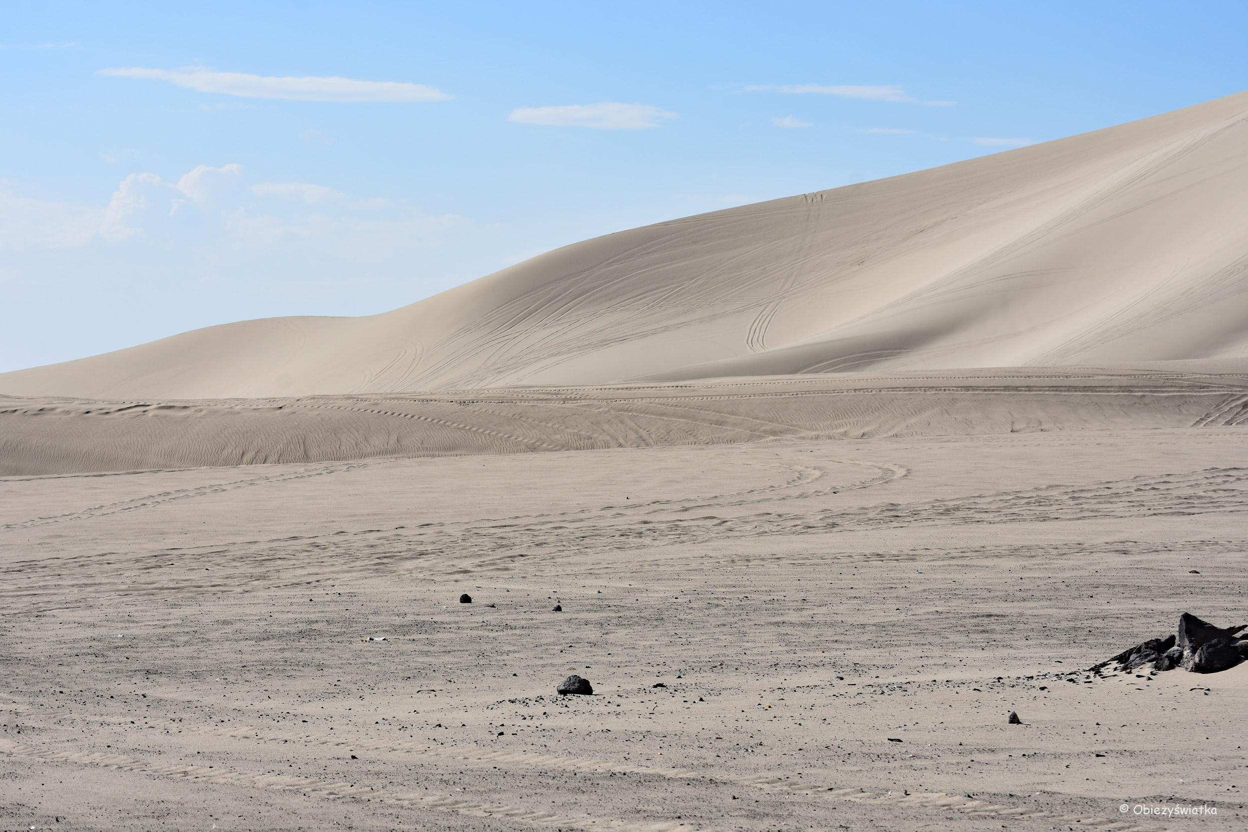 Gorący piasek wydm / Sand Mountain, Nevada