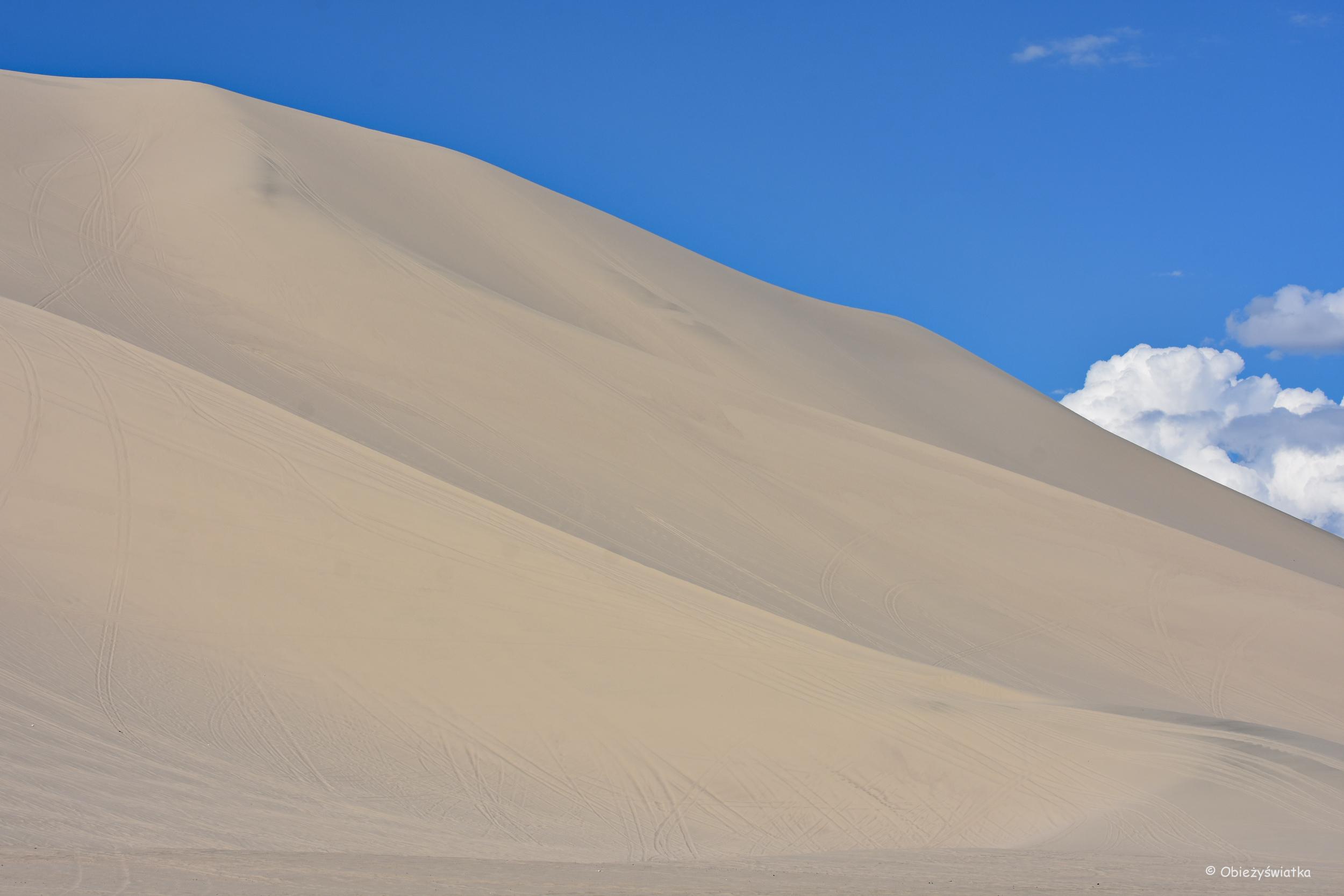 Niebo i piasek / Sand Mountain, Nevada