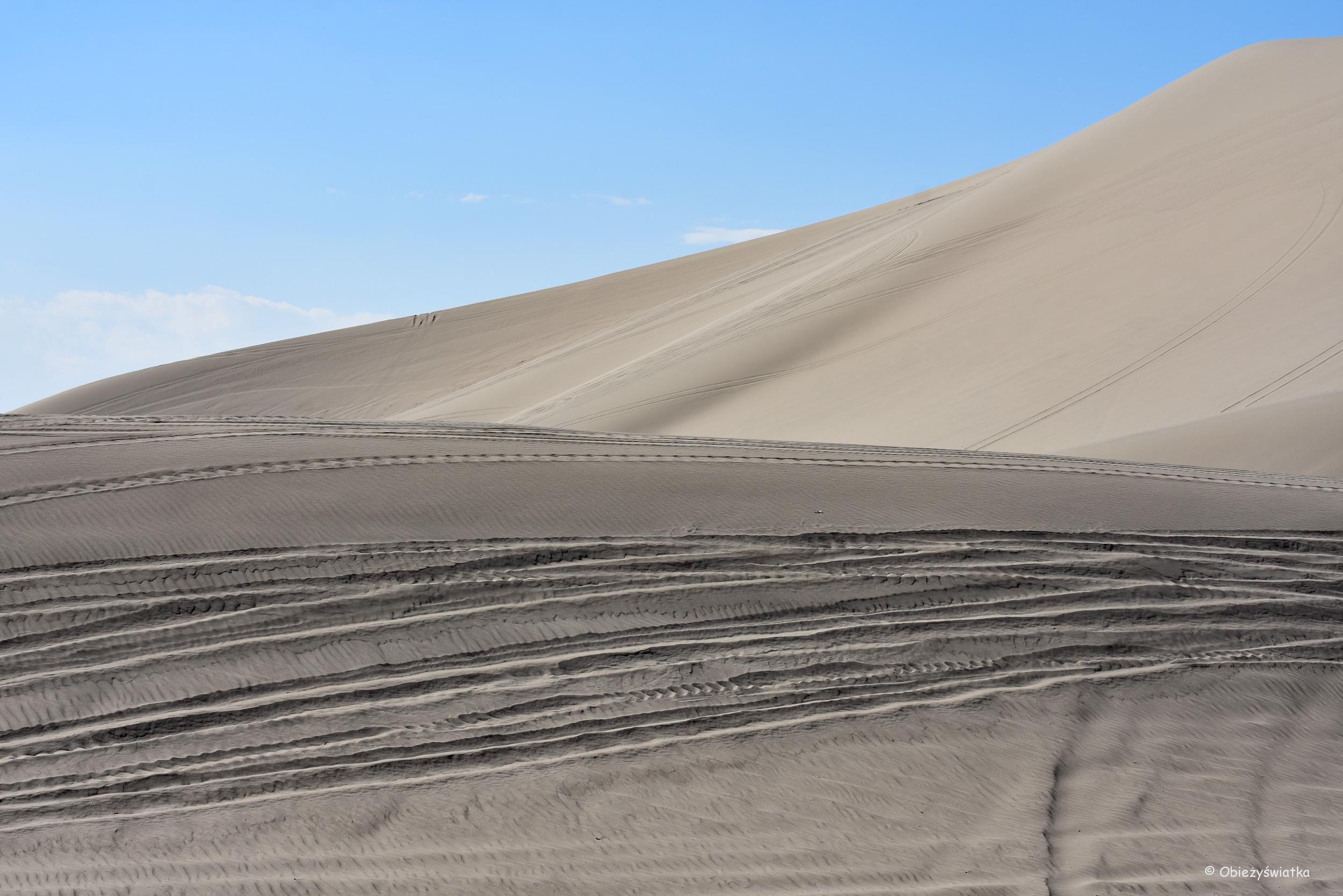 Śpiewające wydmy w Nevadzie / Sand Mountain