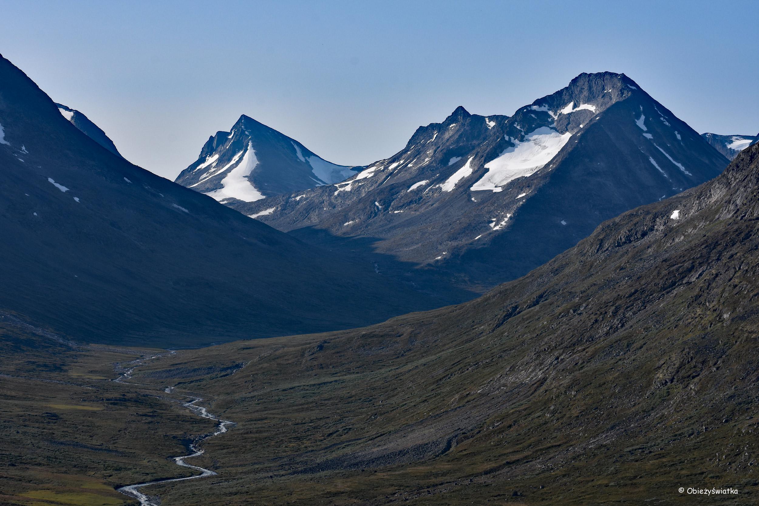 Dolina przy schronisku Spiterstulen