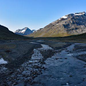 Dolina wokół schroniska Spiterstulen