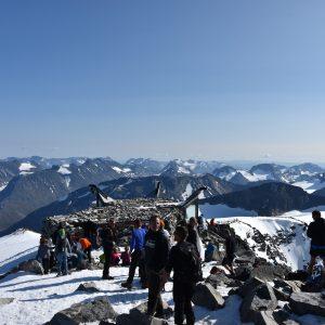 Galdhopiggen - najwyższy szczyt Skandynawii