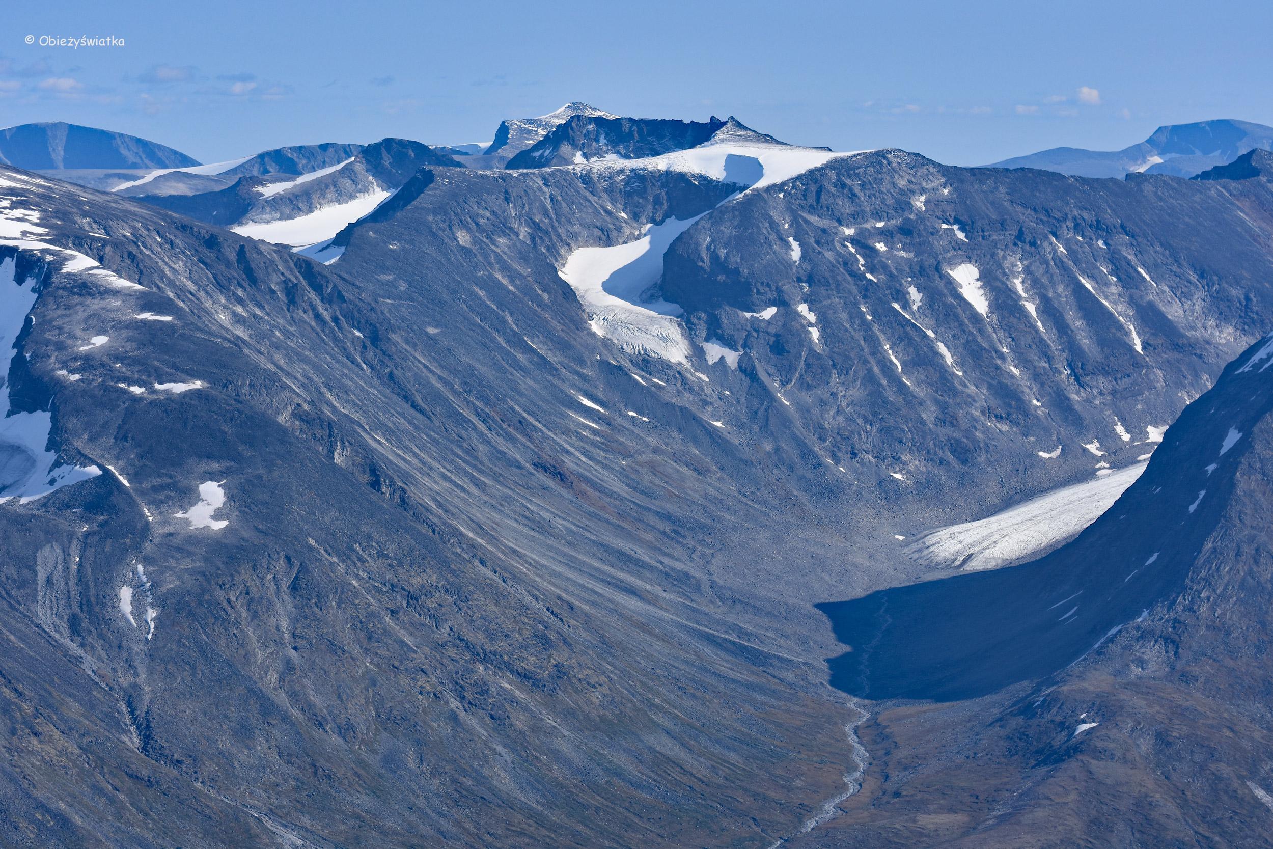 Jotunheimen - widok ze szlaku