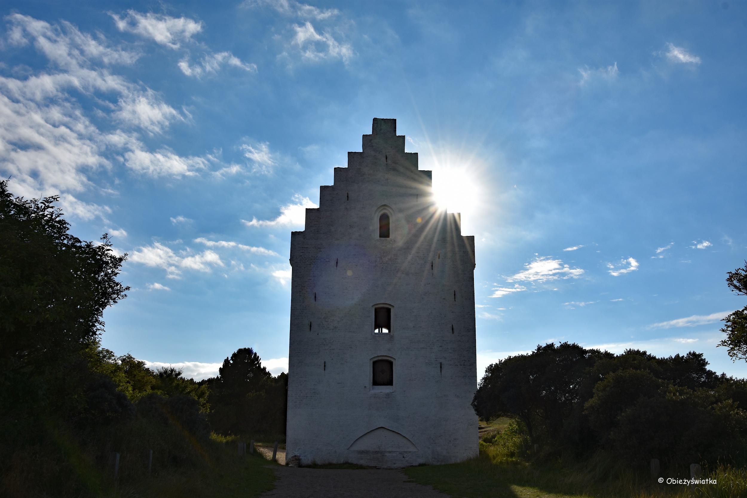 Kościół pod piaskiem w Skagen - świadek historii