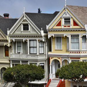 Painted Ladies w San Francisco