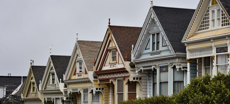 kamienice Painted Ladies w San Francisco