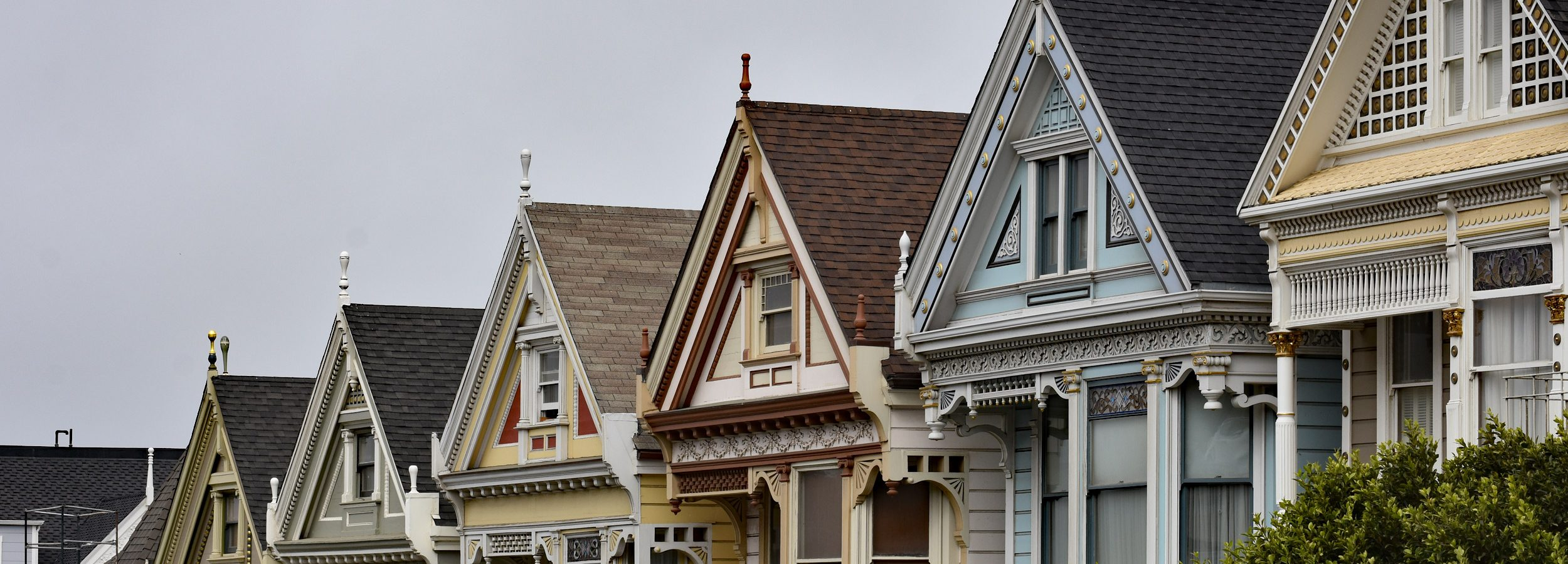 kamienice Painted Ladies w San Francisco