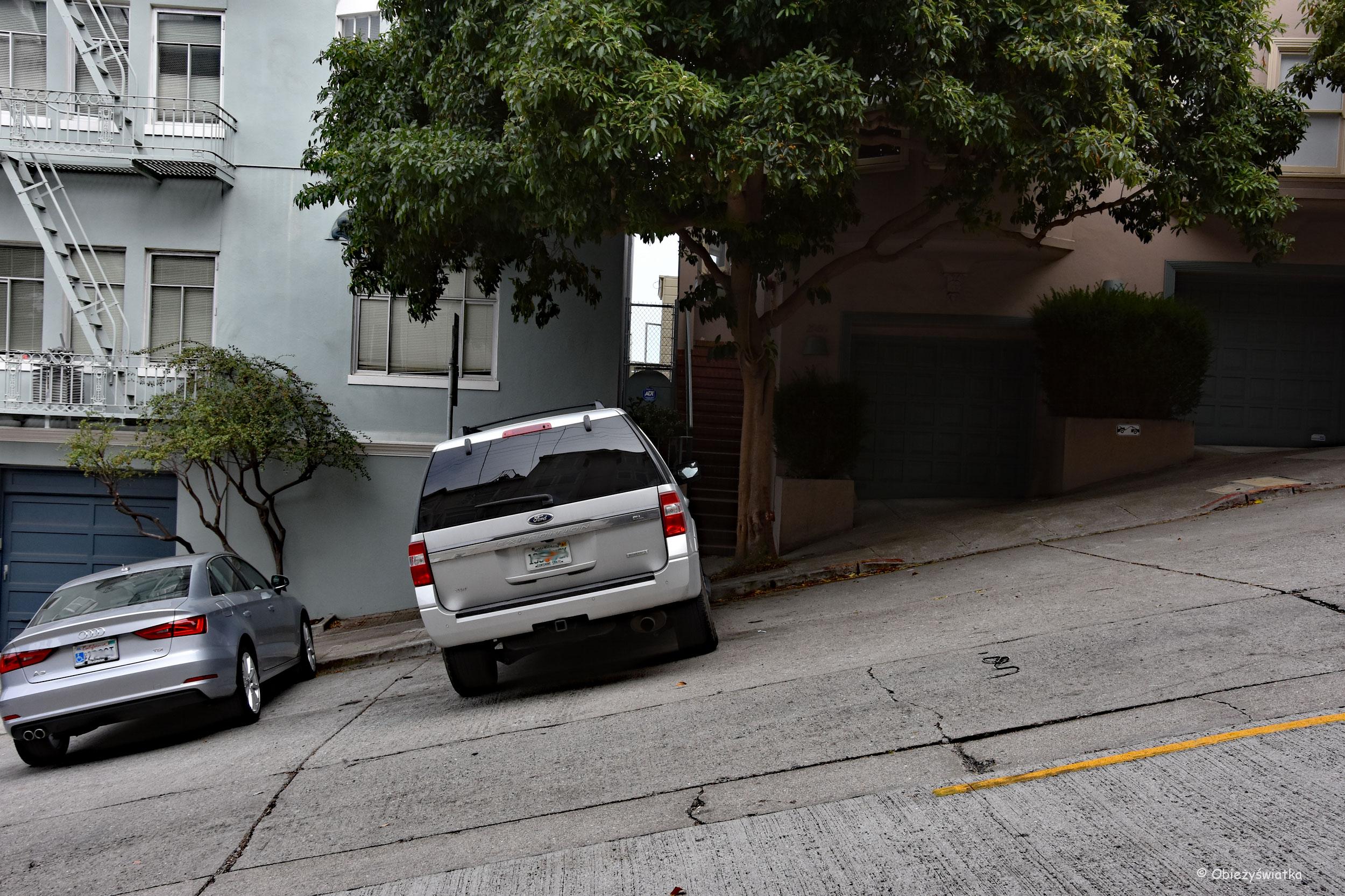 Nasze parkowanie w San Francisco :)