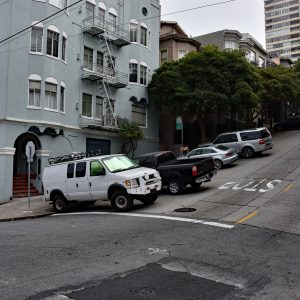 Strome ulice w San Francisco