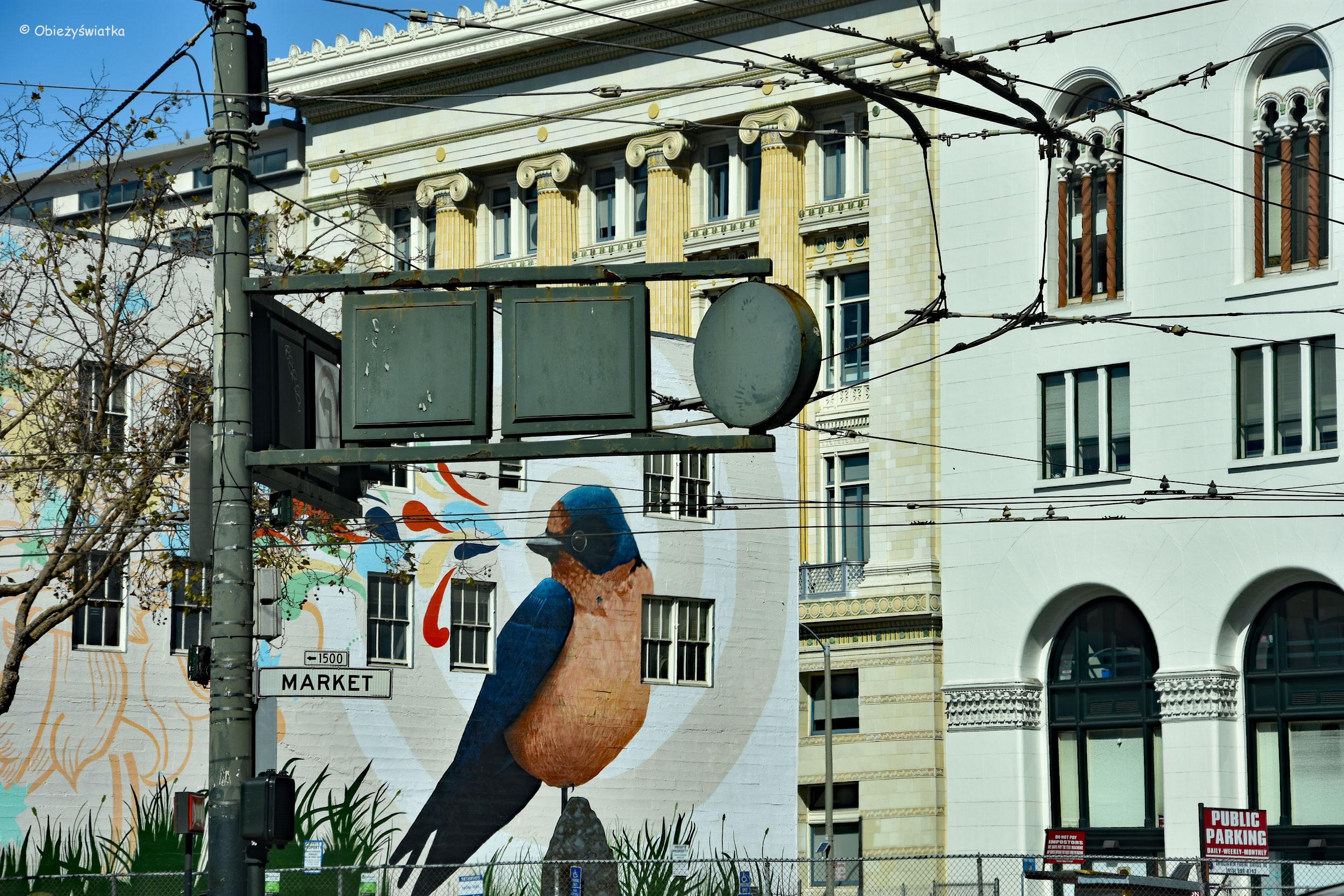 Na jednej z ulic w San Francisco
