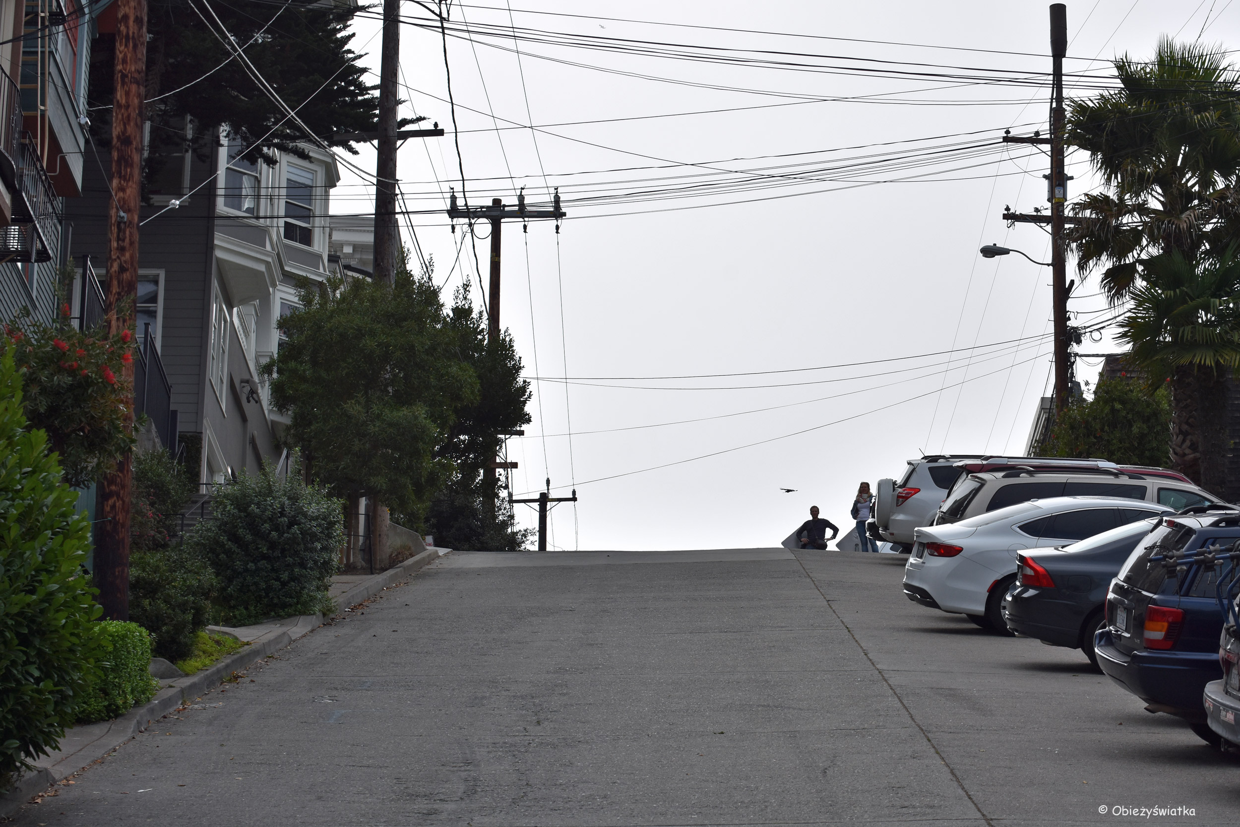 W górę :) - ulice San Francisco