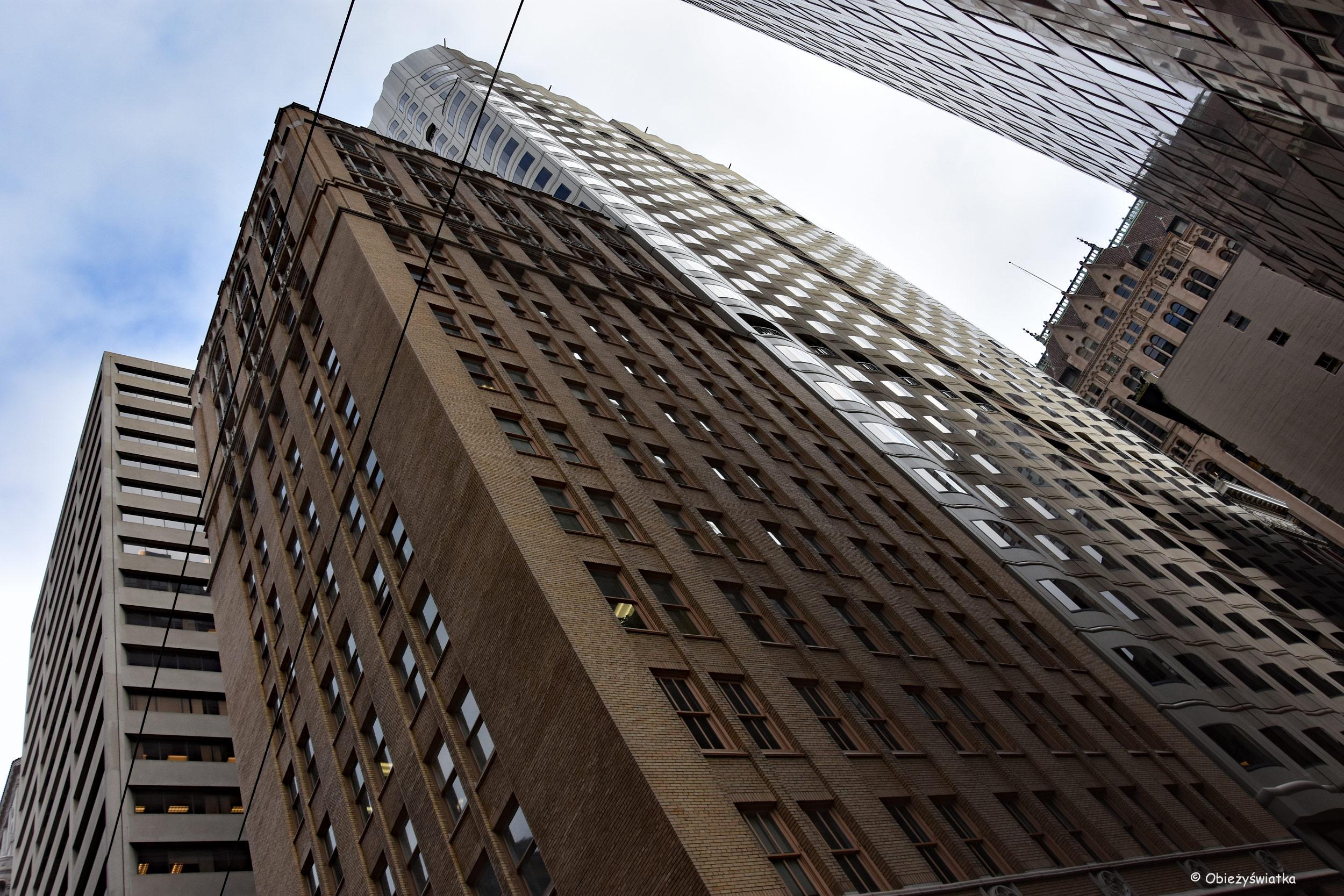 Wieżowce w San Francisco