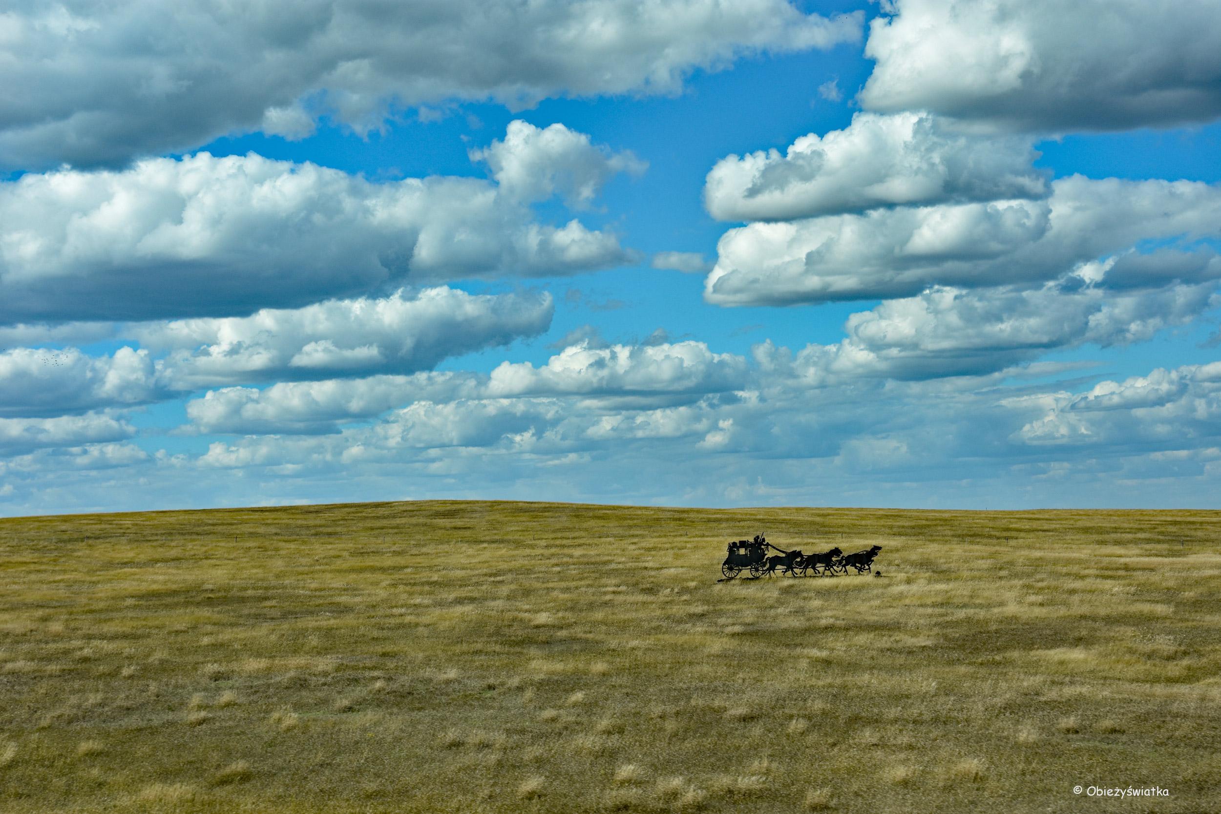 Uciekający dyliżans - Interstate 90, South Dakota