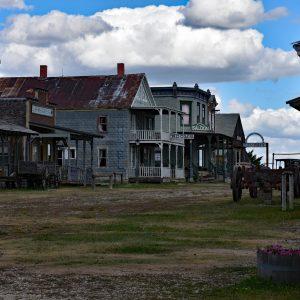 Typowe zabudowania amerykańskie z XIX w. - 1880 Town