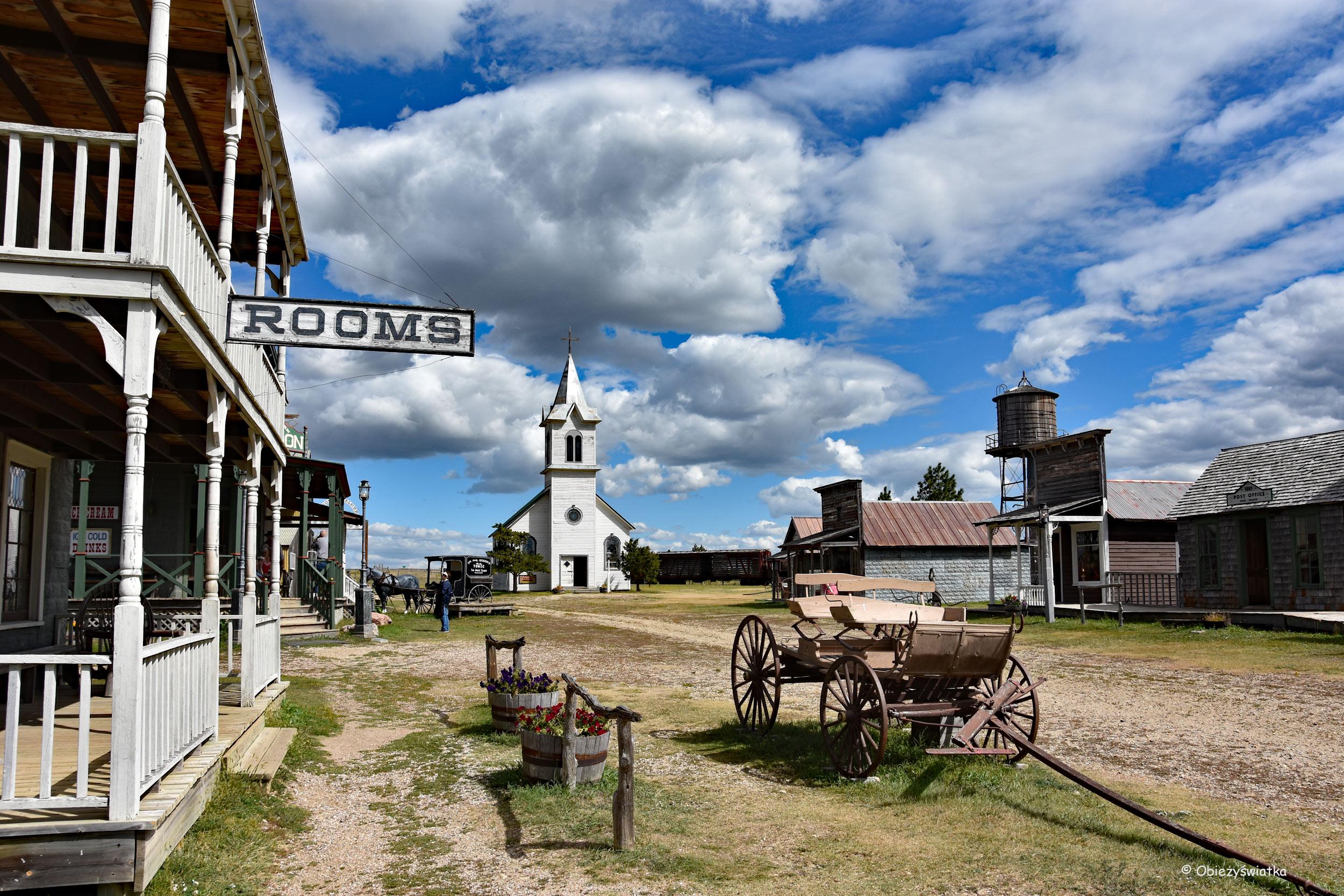 Na głównej ulicy miasteczka - 1880 Town