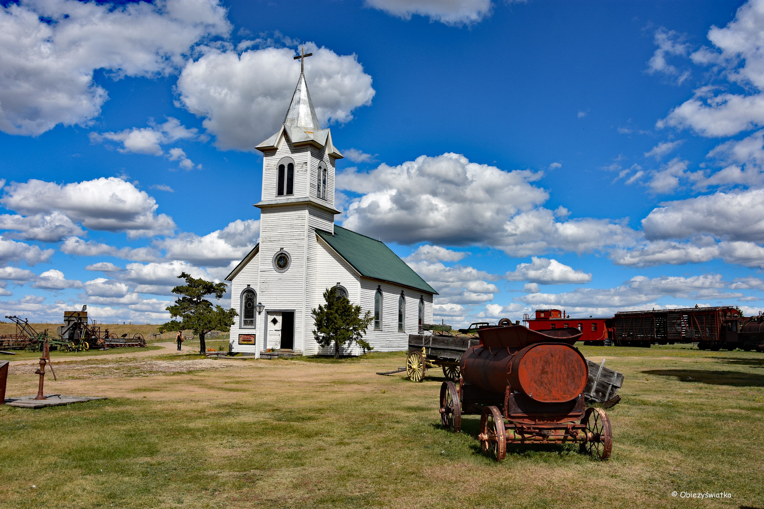 Kościół w miasteczku - 1880 Town