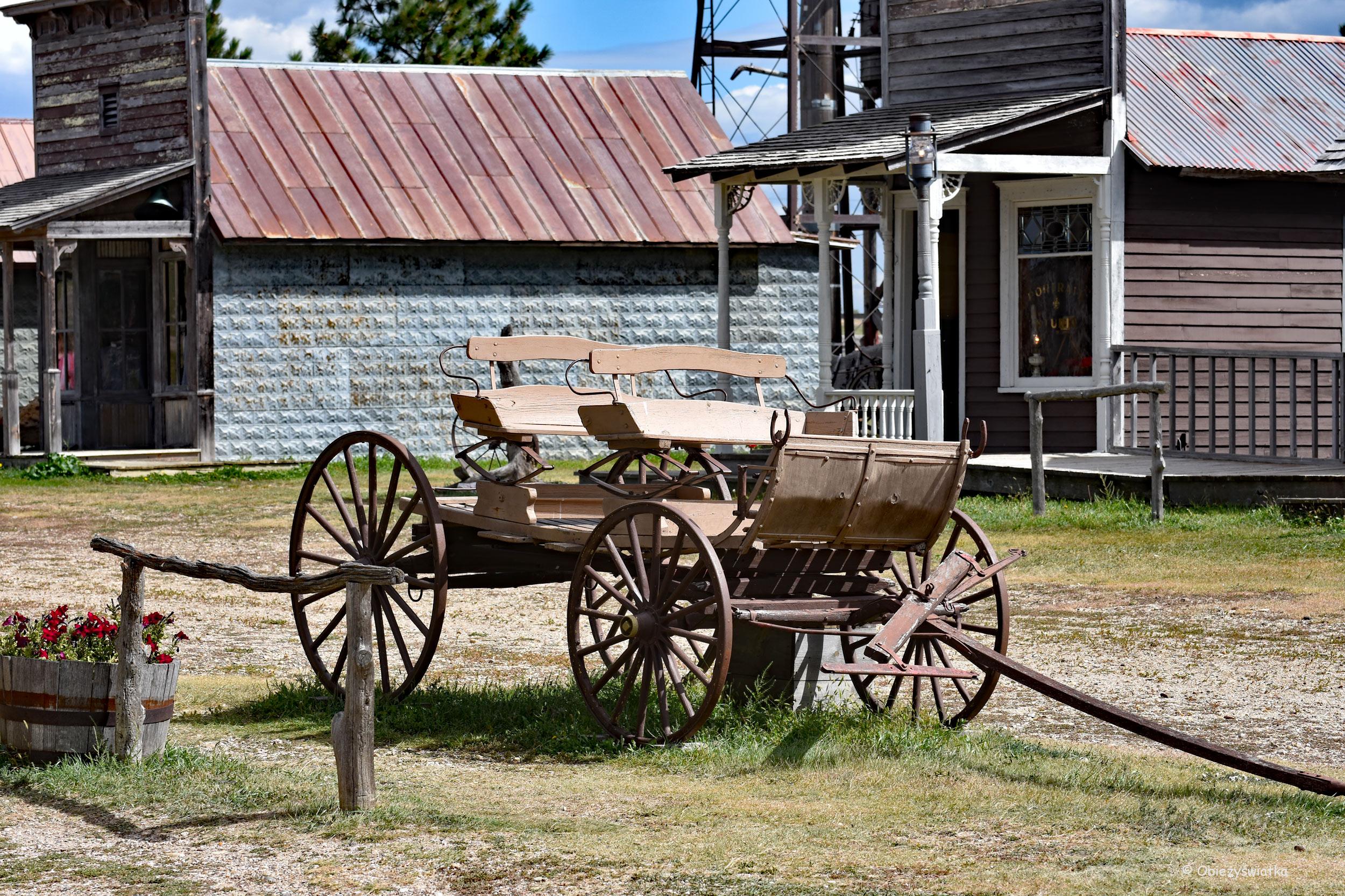 Tradycyjne środki lokomocji na Dzikim Zachodzie