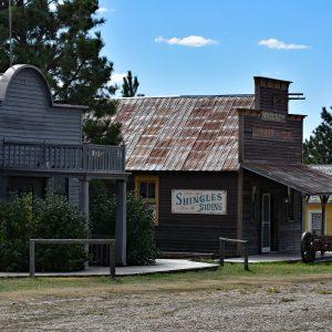Główna ulica miasteczka - 1880 Town
