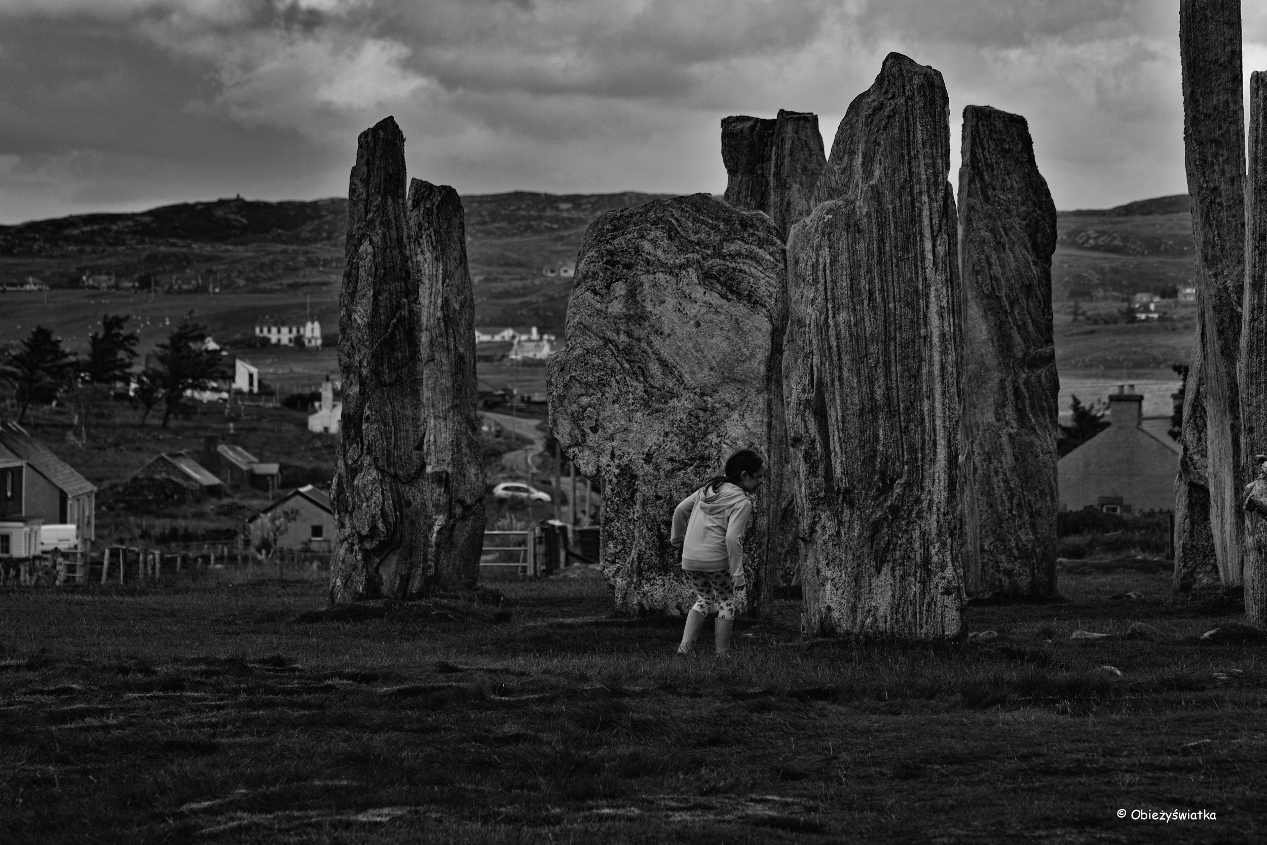 Calanais Standing Stones, Lewis and Harris