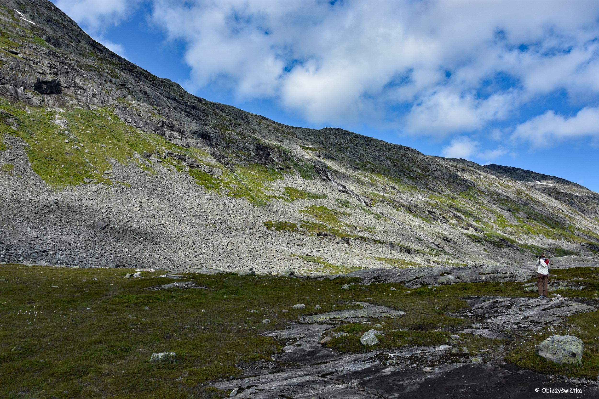 Przez obiektyw - Gamle Strynefjellsvegen, Norwegia