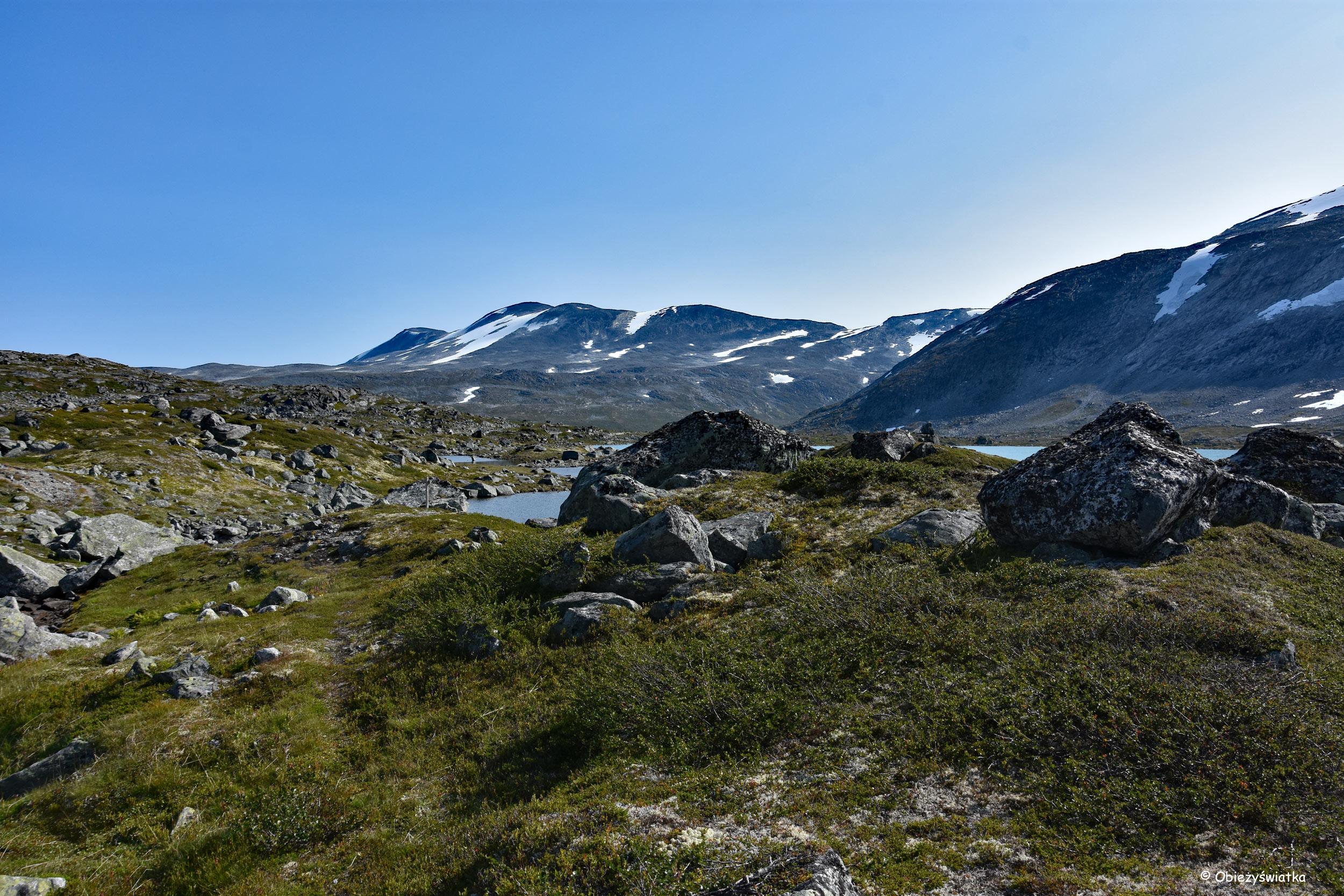 Pustka - Gamle Strynefjellsvegen, Norwegia