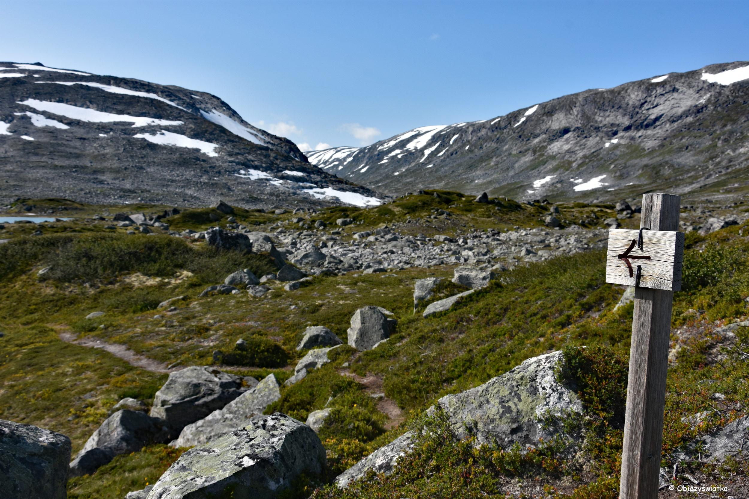 Kamieniście - Gamle Strynefjellsvegen, Norwegia