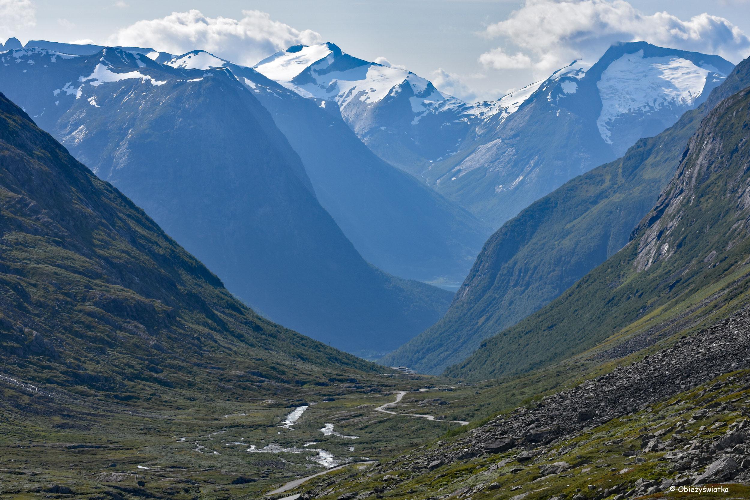 Droga jest celem - Gamle Strynefjellsvegen, Norwegia