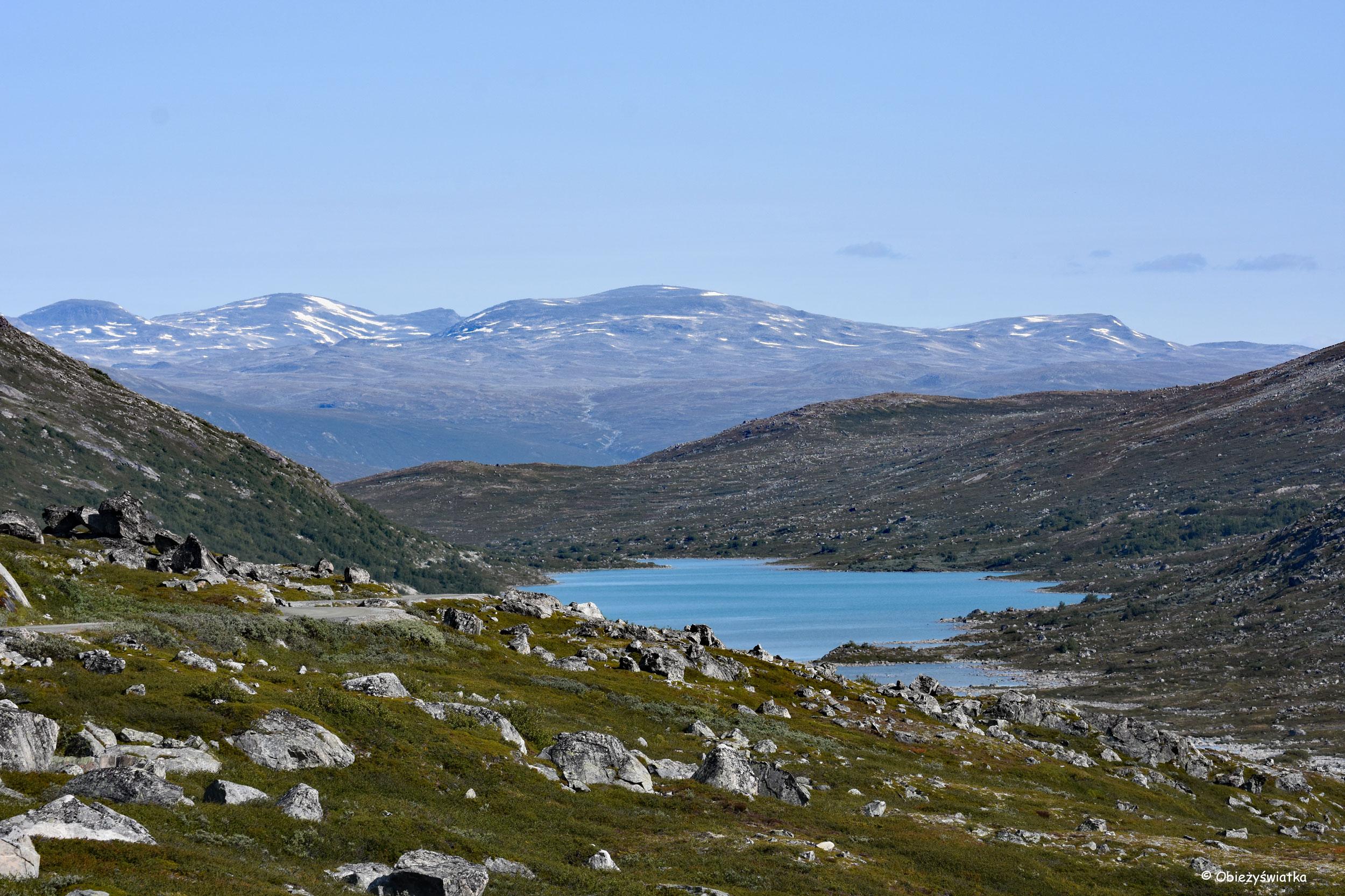 Podróżując po Gamle Strynefjellsvegen, Norwegia