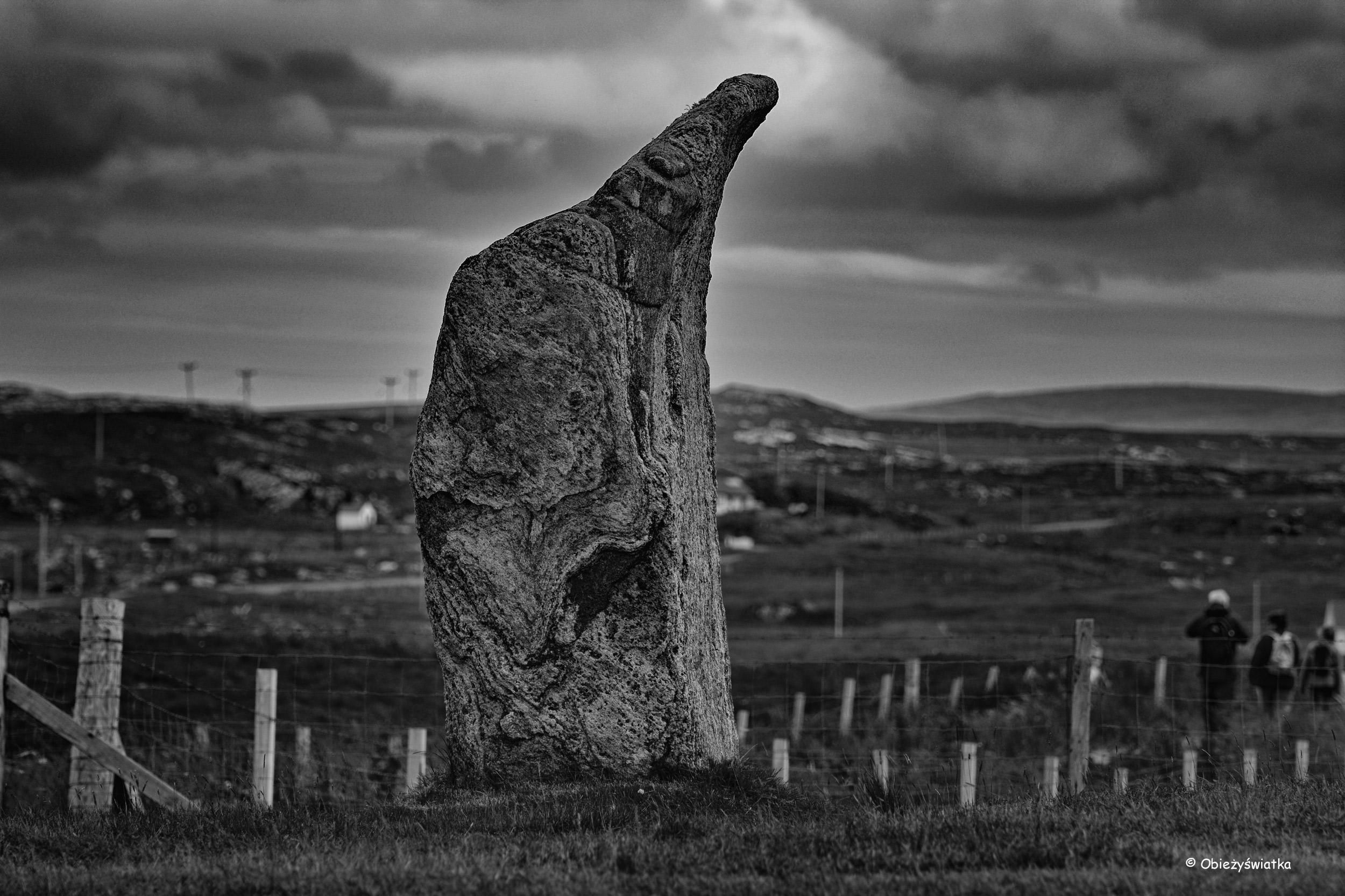 Kamień z Callanish/Calanais, Lewis and Harris