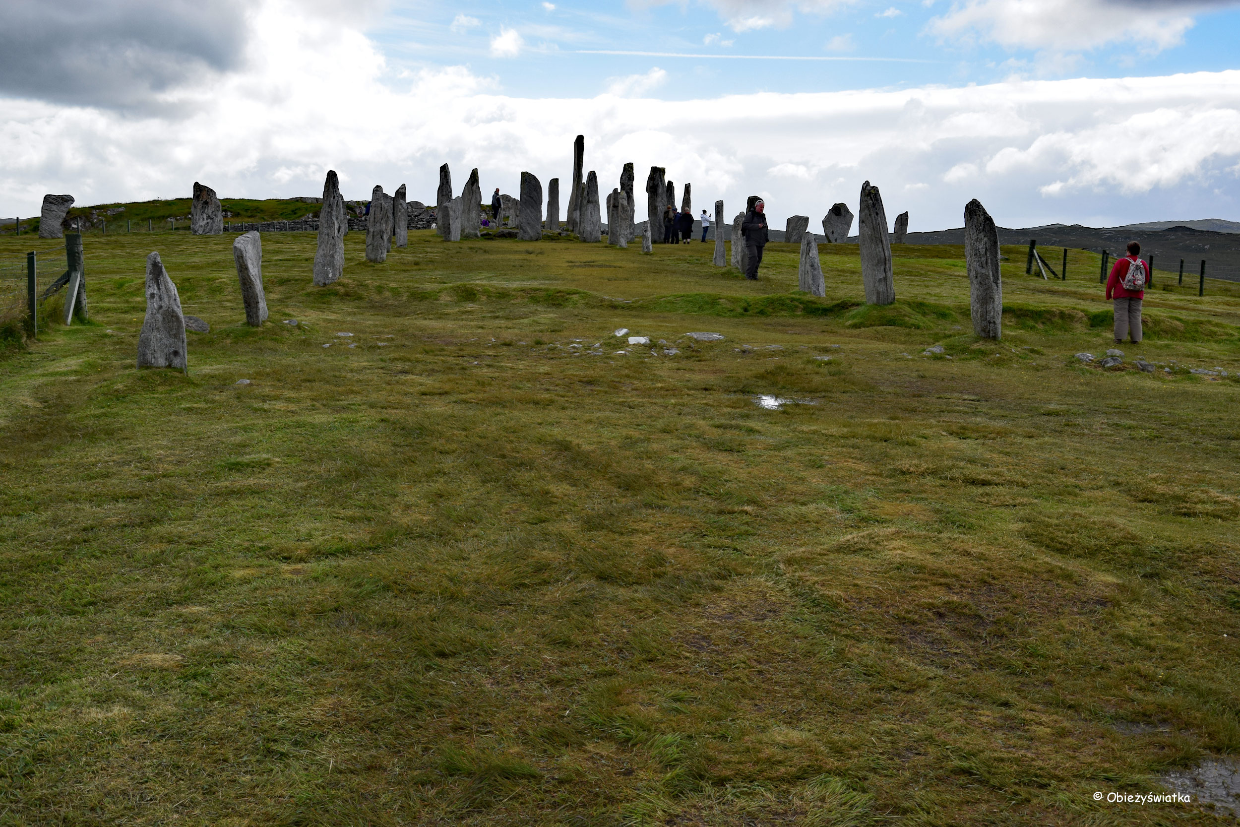 Kamienny krąg Callanish/Calanais, Lewis and Harris
