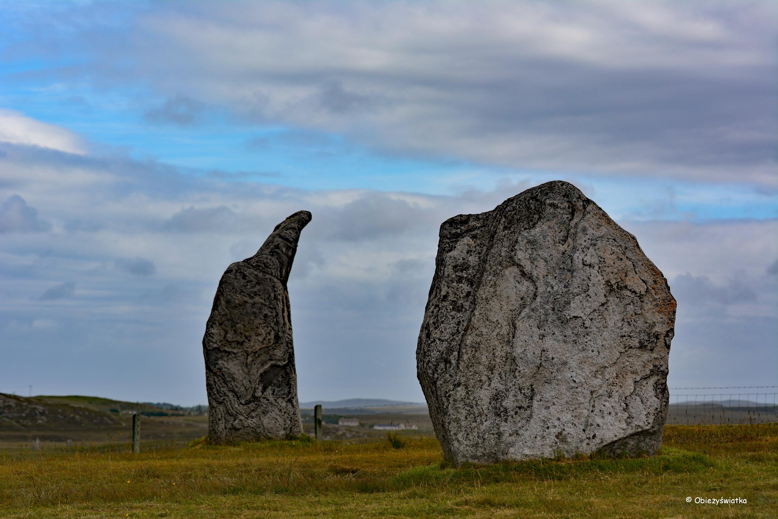 Jak megalit z megalitem.... - Callanish/Calanais, Lewis and Harris